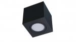 Oprawa natynkowa NORD kwadrat czarna