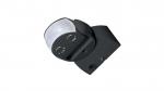 Czujnik ruchu PIR 180° IP65  230V - czarny 11B7